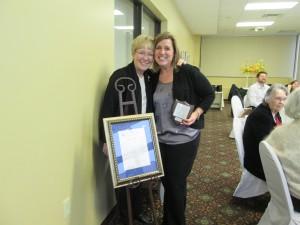 Sherri Spagnola POY Achievement Award---2015